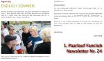 Screenshot Newsletter 24, August 2012