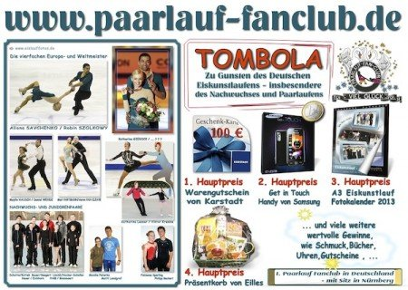 Plakat Tombola Oberstdorf