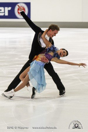 Kurztanz Madison Chock und Evan Bates