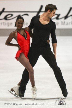 Vanessa James und Morgan Cipres Kurzprogramm